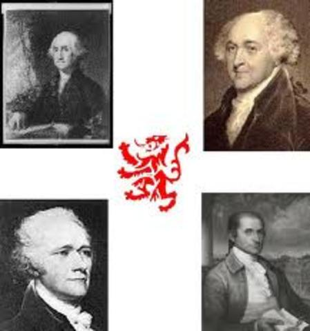 Beginning of Federalist Party