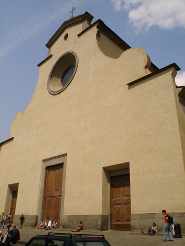 Florence: Church of Santa Maria del Santo Spiritu