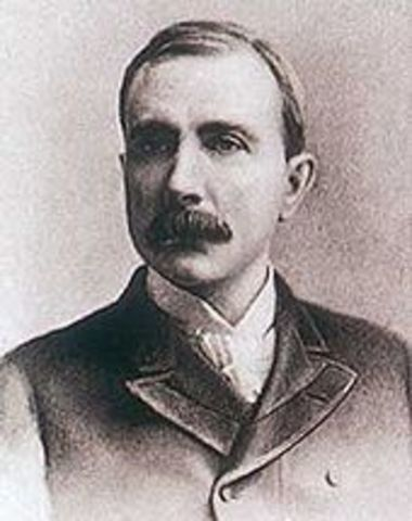 John D. Rockerfeller starts Standard Oil