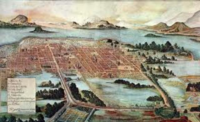Inundacion de Tenochtitlan
