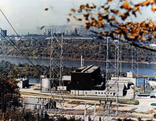 1st Commercial US nuclear plant opened- Shippingport nuclear power plant
