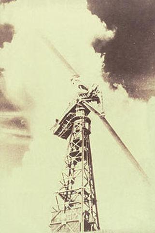 World's first megawatt sized wind turbine connected in Castleton, VA