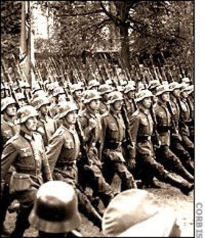 Nazi Invasion of Poland on 1 September 1939