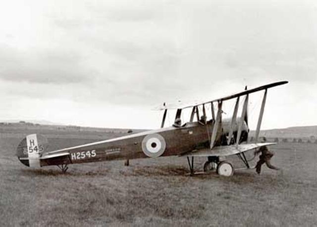 The first powered aeroplane flies in Australia