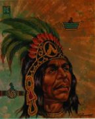 The Sad Night, The tenth king of Tenochtitlán