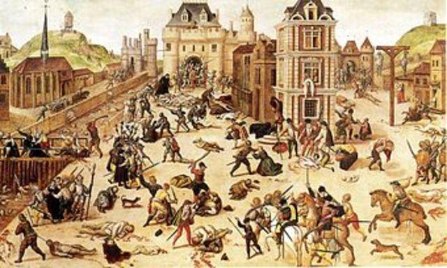 Saint Bartholomew 's Massacre