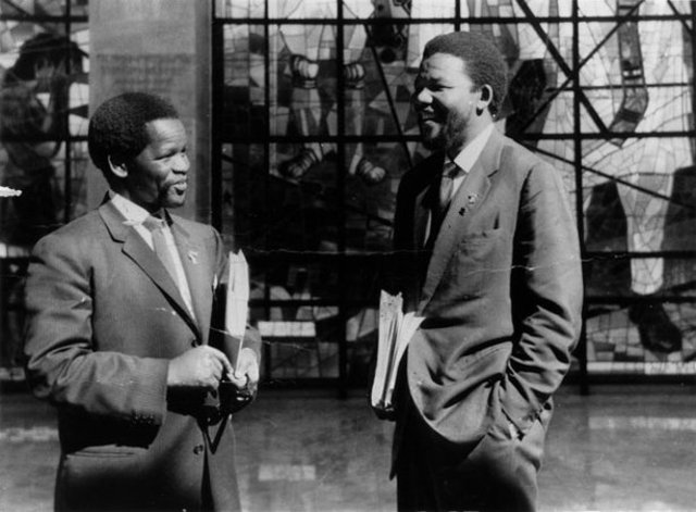 Nelson Mandella Starts A Law Firm with Oliver Tambo