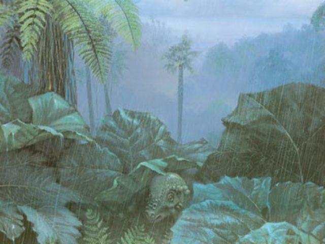 Jurassic 195-136 MYA