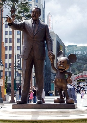 Walt Disney passes away.