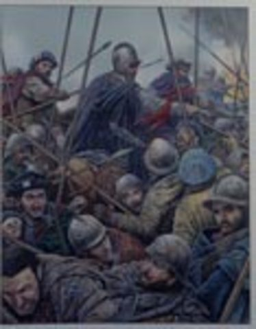 Scotts lose Battle of Solway Moss
