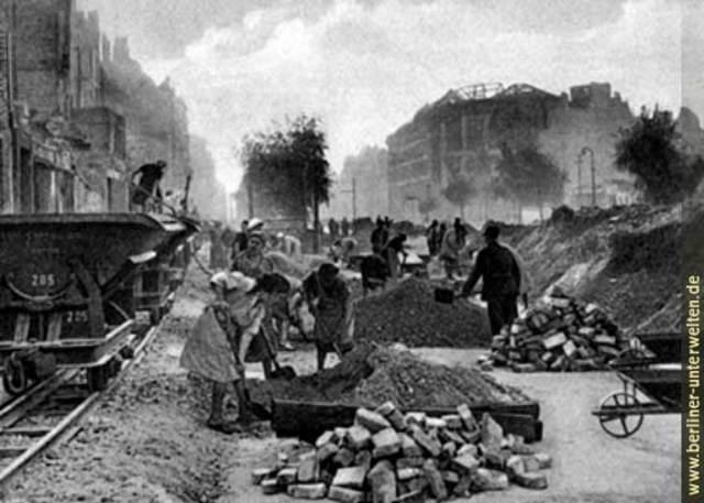 La reconstruction de Berlin