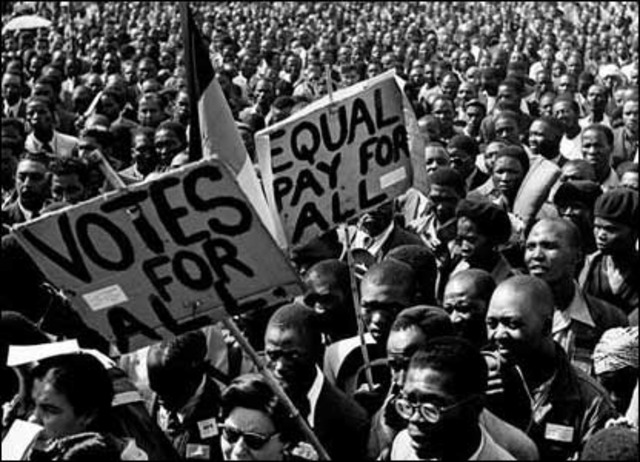 The ANC and SAIC launched the Defiance Campaign.