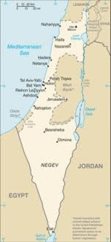 Arab and Jewish state