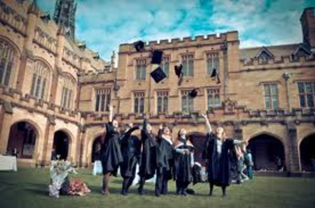 The first University in Australia (University of Sydney) founded