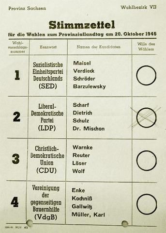 Élections pour le parlement