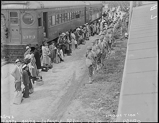 Japanese Relocation Centers