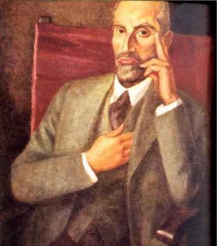 Nace Juan Ramón Jiménez en Moguer (Huelva)