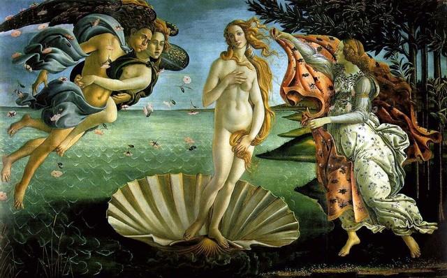 Sandro Botticelli paints Birth of Venus