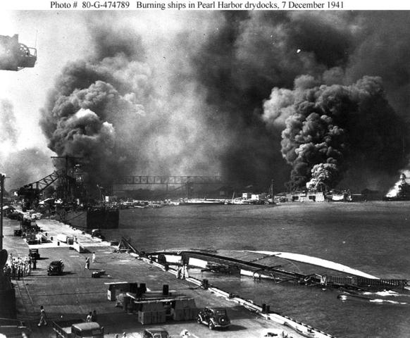 Japón ataca Pearl Habor