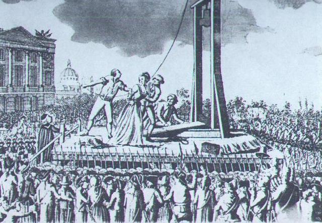Death of Marie Antoinette