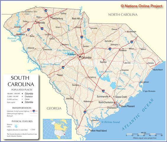 South Carolina seceds