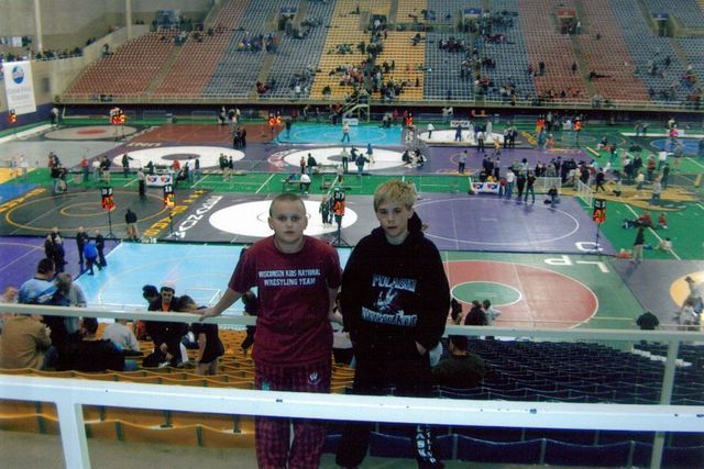 whent to nationals for wrestling
