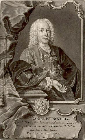 Nacimiento de Daniel Bernulli Groninga, 8 de febrero de 1700