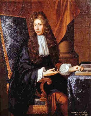 Nacimiento de Robert Boyle