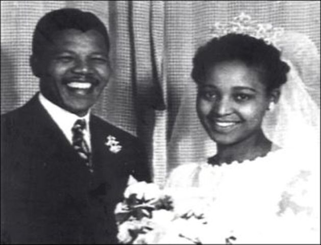 Nelson Mandella Marries For The Second Time