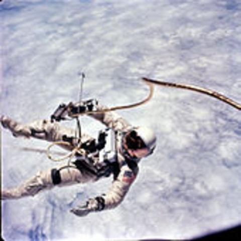 The EVA, or Spacewalk Performed by American