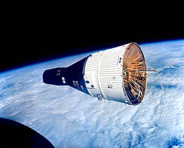 Gemini VII Launched