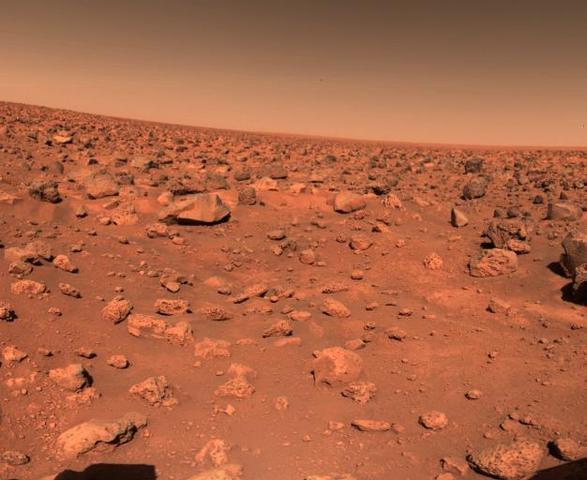 Viking II Lands On Mars
