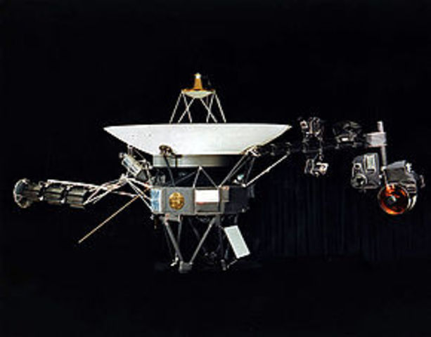 Voyager II Launched