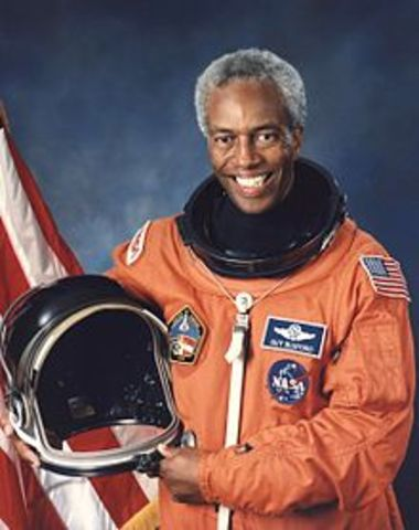 First African-American in Space