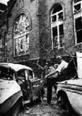 Bombing at the church in Birmingham