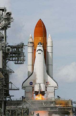 Atlantis is Launched and Docked