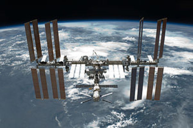 ISS Launched