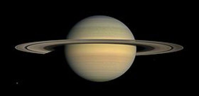 First Orbit of Saturn