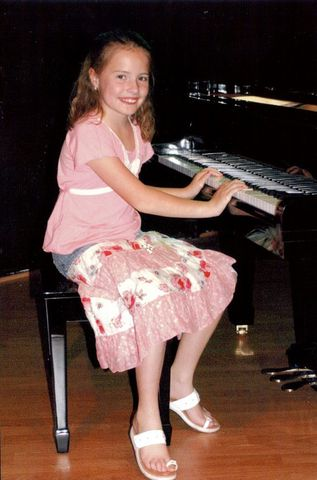 I Started Playing the Piano