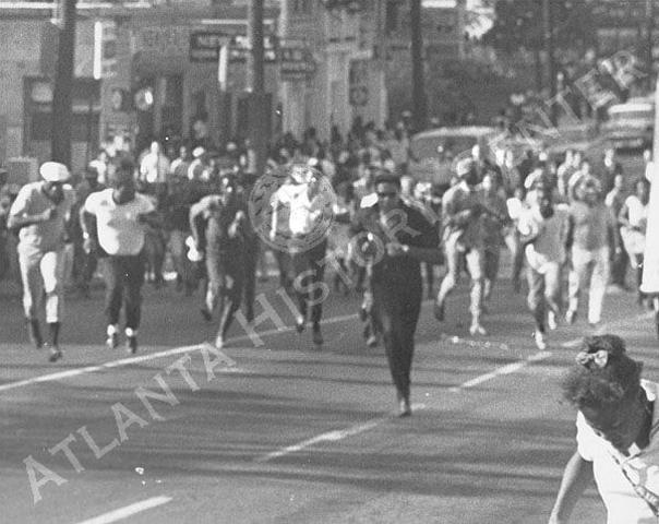 Summerhill Race Riot in Atlanta
