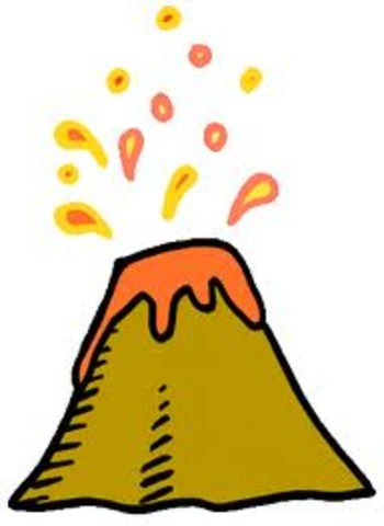 Mt St Helens erupts