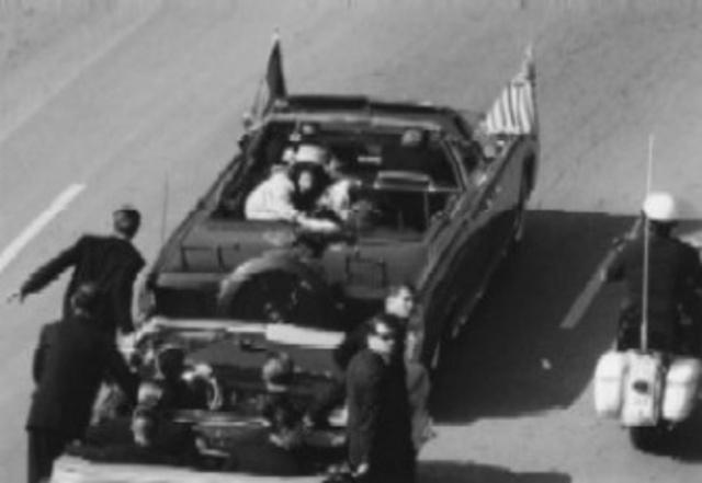 President JFK is assainated