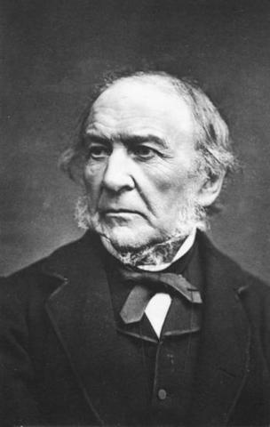 Gladstone der ophæver den anglikanske kirke.