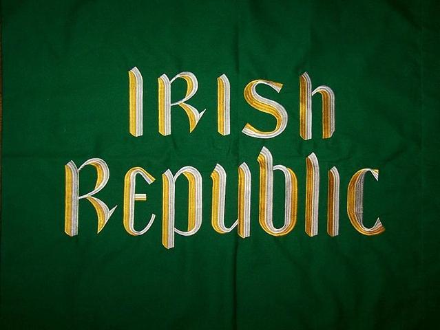 Proklamationen af Den Irske Republik.