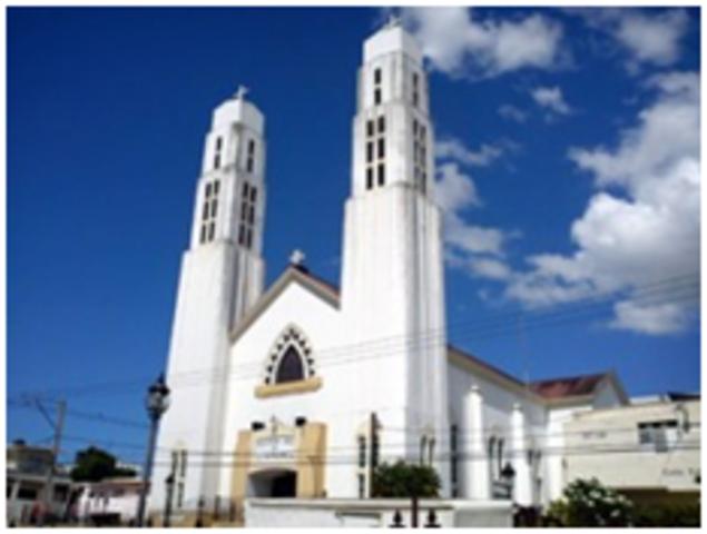 Iglesia nuestra Señora de la Altagracia, Santiago de los caballeros.