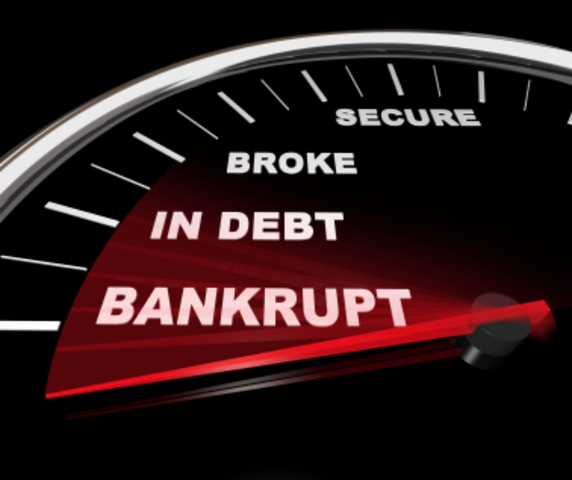 Spain declares bankruptcy for the 1st time