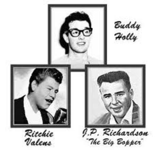 """Buddy Holly, Ritchie Valens, and """"The Big Bopper"""" Die"""
