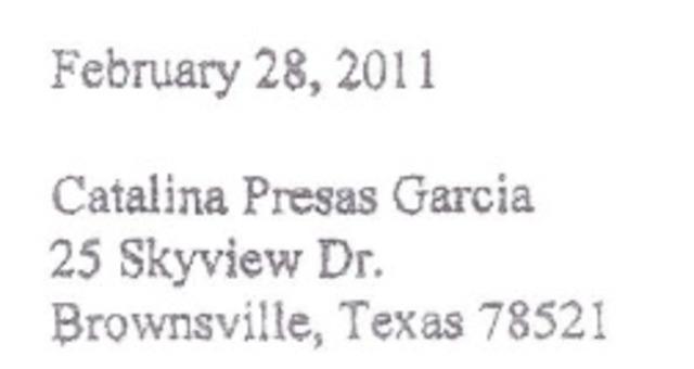 Presas-Garcia Invoiced.