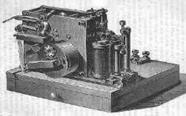 first patent application for acoustic telegraphy