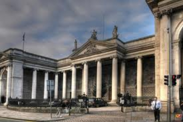 Det irske parlaments ophævelse